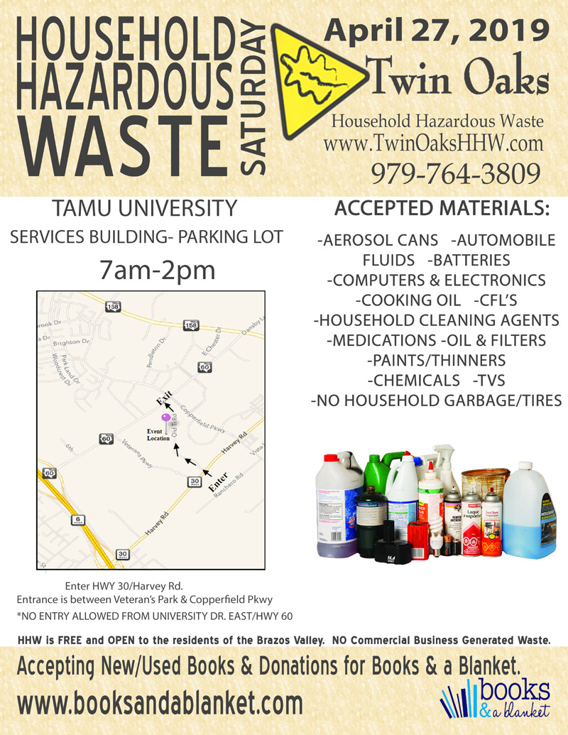 Twin Oaks Household Hazardous Waste And Landfill